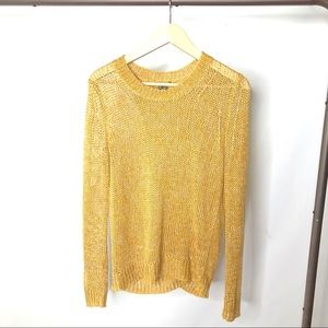 Theory Knit Split Back Pullover Sweater